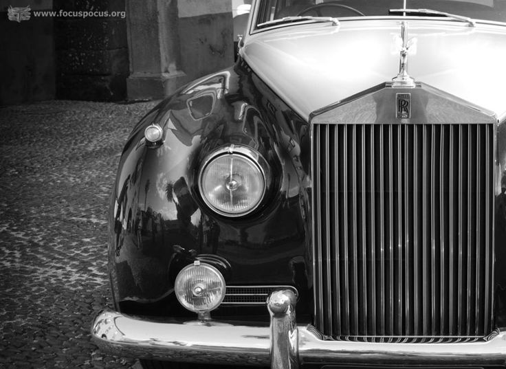 #Vintage #Rolls #Royce #car #blackandwhite #photo #photography #madeira #portugal #art