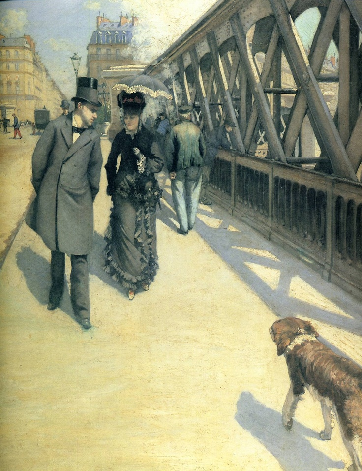 Gustave Caillebotte. Love his paintings - there's the famous one in the Chicago Art Institute.