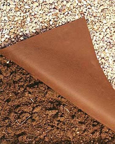 100% Weed Control with this Fabric Weed Mat. Chemical-free weed control allows air, water and nutrients to pass through. Holds up to sharp or abrasive rocks. Can be used behind retaining walls, too. Just cut with scissors to fit. Roc-Kloth is a super-tough, 3-1/2 oz. polypropylene fabric, specially designed for use beneath crushed stone, gravel and paving stones. It suppresses weed growth while allowing air, water and nutrients to pass through.