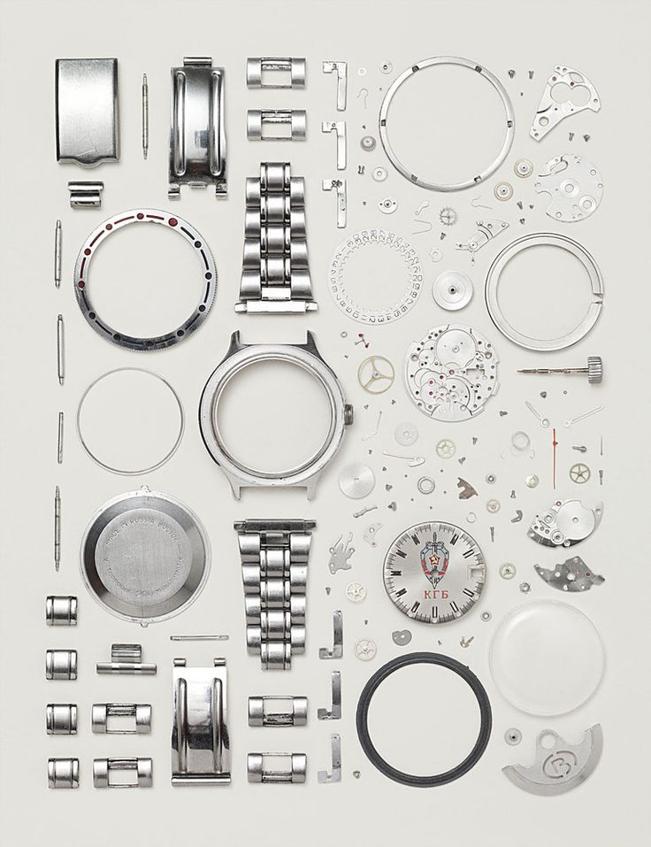 Image of Disassembled Russian Watch