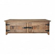 Cabinet coffee table in reclaimed pine - Trade Secret