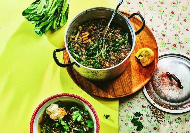 Linsen-Mangold-Suppe