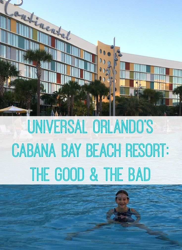 Universal's Cabana Bay Resort: The Good and the Bad for Families