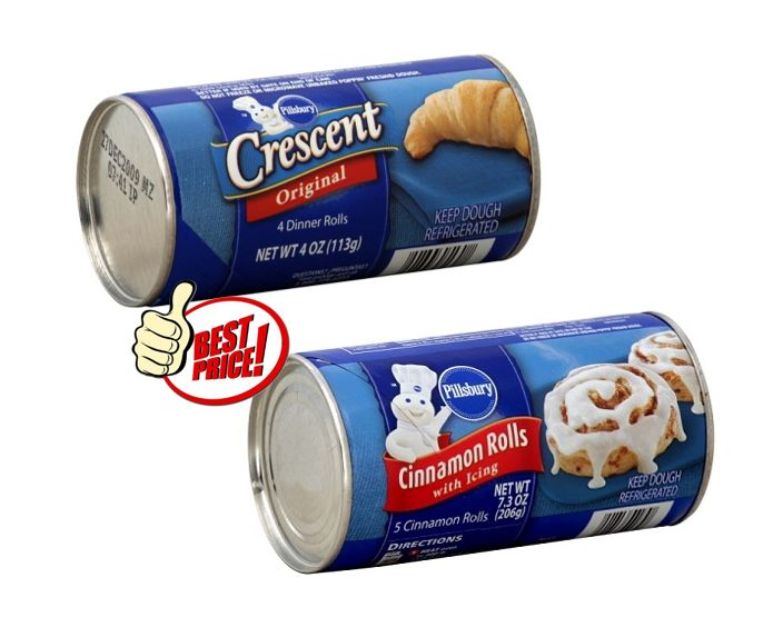 Publix Deal Alert - Pillsbury Crescent or Cinnamon Rolls just $0.50 each after sale & printable coupon. Valid 9/6 through 9/12 (9/7 - 9/13)! #coupon #deals #grocery #stores
