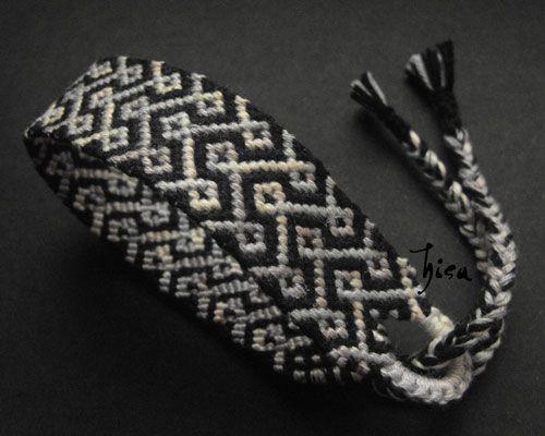 Photo of #7537 by Hisa - friendship-bracelets.net