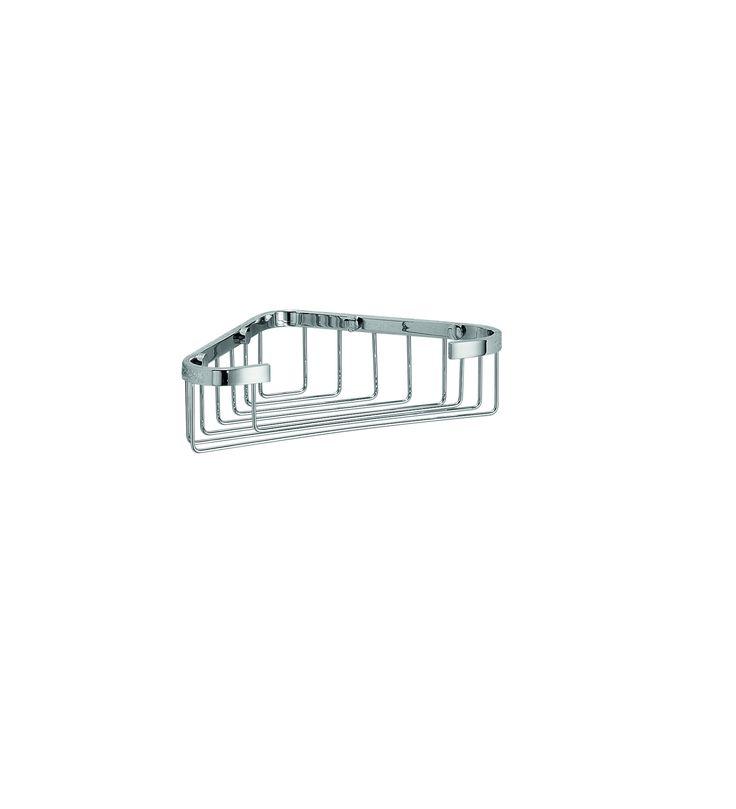 LB Filo Bath Corner Shower Caddy Shelf for Shampoo, Conditioner, Brass Chrome - More Size Options Available