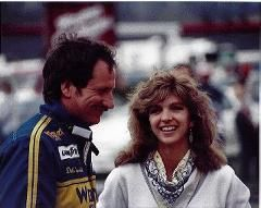 Dale Earnhardt Sr. and wife Theresa.