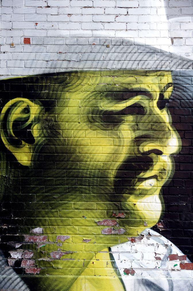 Art sur brique.
