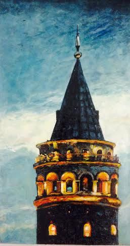 Galata Kulesi 1 by HOBBYISLIFE on Etsy, $220.00