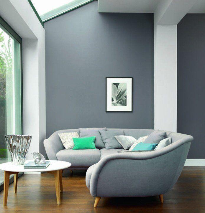 17 meilleures id es propos de peinture gris clair sur - Peinture gris clair salon ...