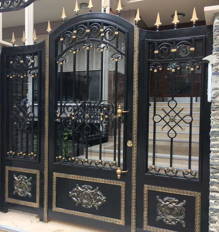 Gate Design, Steel Gate Design