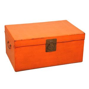Trunk Orange L, 420€, now featured on Fab.