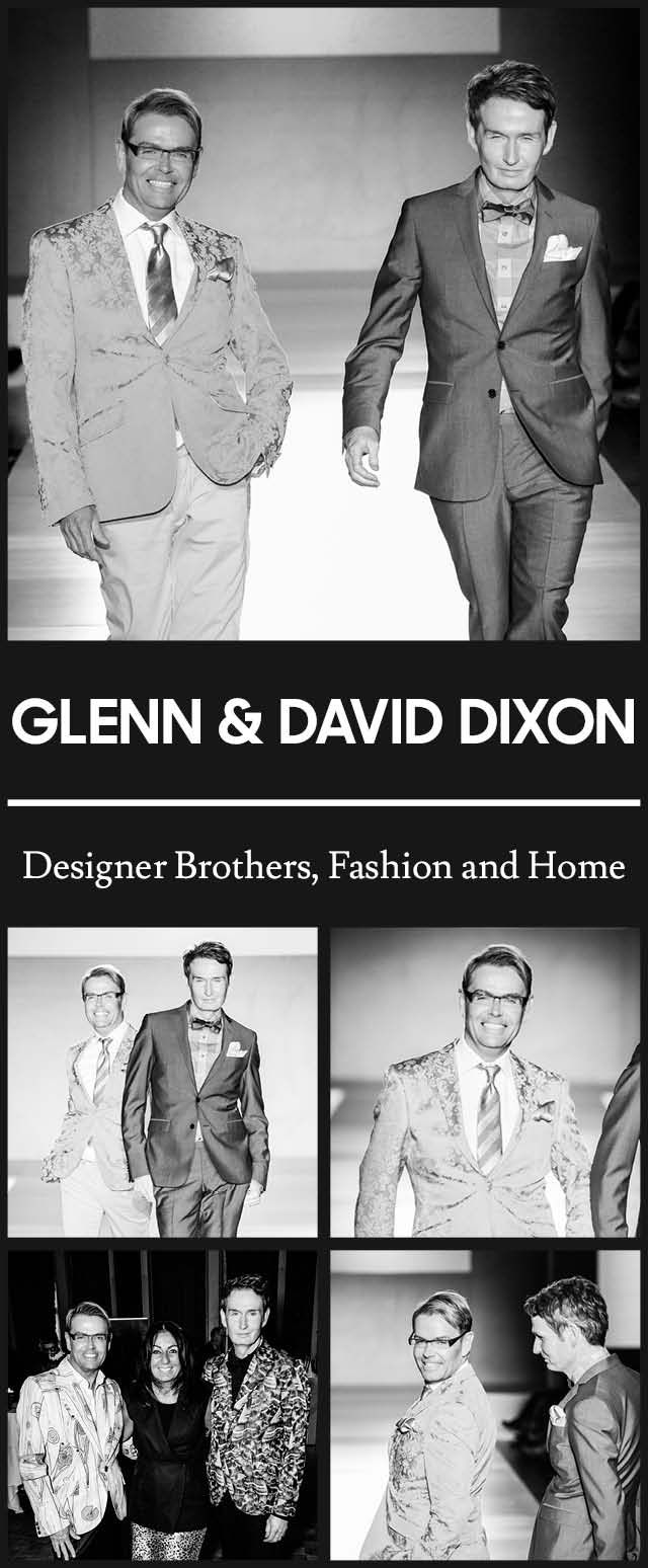Glenn + David Dixon at TOM* Toronto Men's Fashion Week SS15 MENSFASHION4HOPE Celebrity Charity Fashion Show to benefit The Kole Hope Foundation for children. #ILOVETOM #IAMTOM #LOVECANADIANFASHION http://WWW.TOMFW.COM