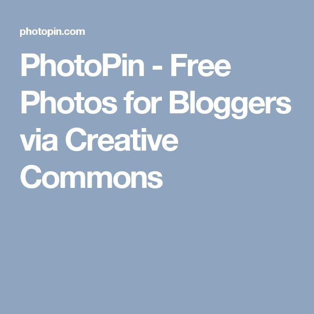 Worth looking into.  PhotoPin - Free Photos for Bloggers via Creative Commons