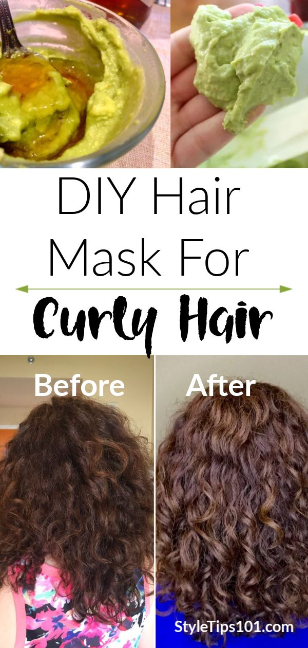 The Ultimate Hair Mask For Curly Hair in 2020 Avocado