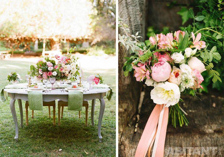 Праздничный стол для жениха и невесты