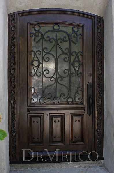 1000 Ideas About Wood Front Doors On Pinterest Entry
