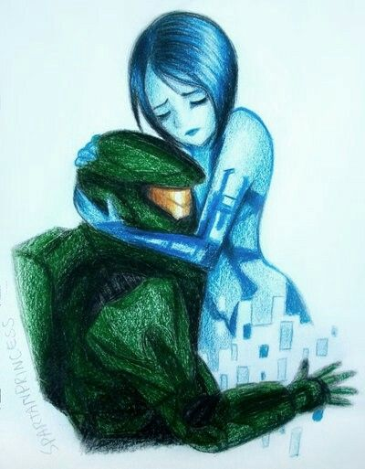 master chief and cortana by spartanprincess on deviantart