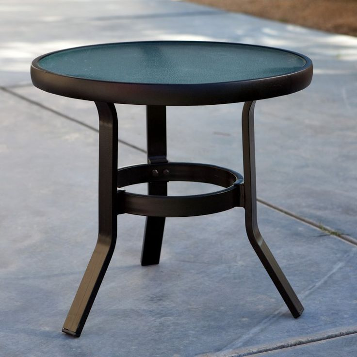 Outdoor Coral Coast Del Rey 20 In. Patio Side Table   20R CAGA/