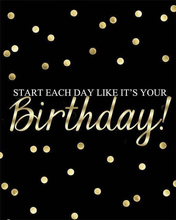 Birthday Girl Middle Of Somewhere In 2021 Kate Spade Quotes Birthday Quotes For Him Birthday Quotes