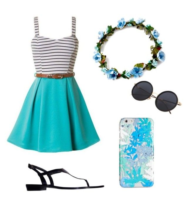 """Beach look"" by yasmin-bach-rasmussen on Polyvore featuring Ralph Lauren and Vera Bradley"