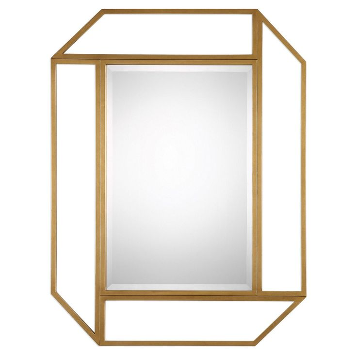 Uttermost Mendez Antiqued Gold Wall Mirror - 9219