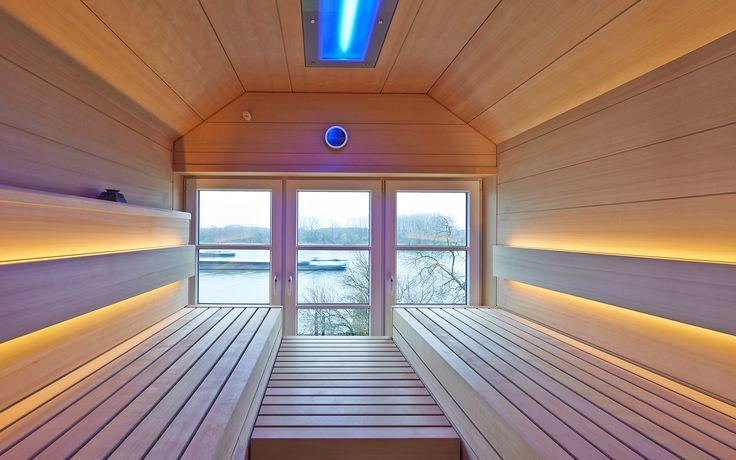 KLAFS: Maßanfertigung einer Sauna nach Ihrem Wunsch