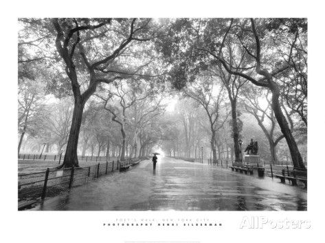 Poet's Walk, Central Park, New York City Prints by Henri Silberman at AllPosters.com