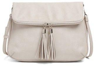Bp. Foldover Crossbody Bag - Grey #handbags