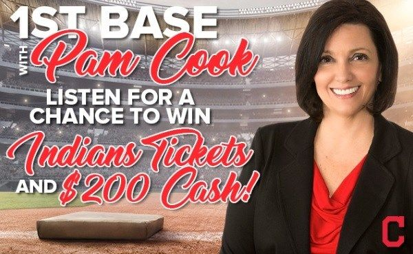 1st Base With Pam Cook Contest - Enter To Win Prize Package