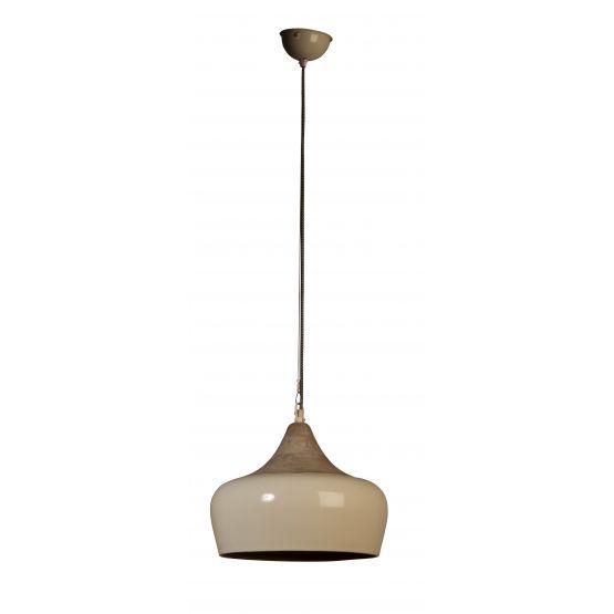 Dutchbone hanglamp Coco, ivoor Dutchbone Collection Lampen