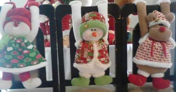 Forro sillas | Navidad | Pinterest