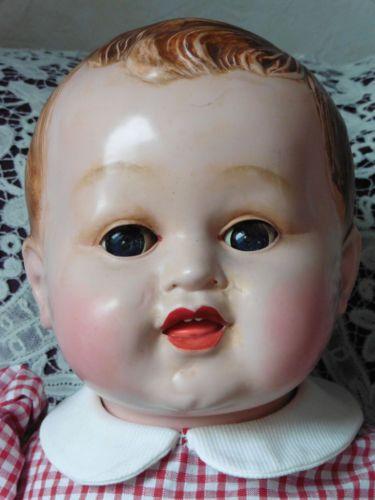Poupee-ancienne-celluloid-Premier-grand-bebe-Gege-en-rhodoid-55-cm