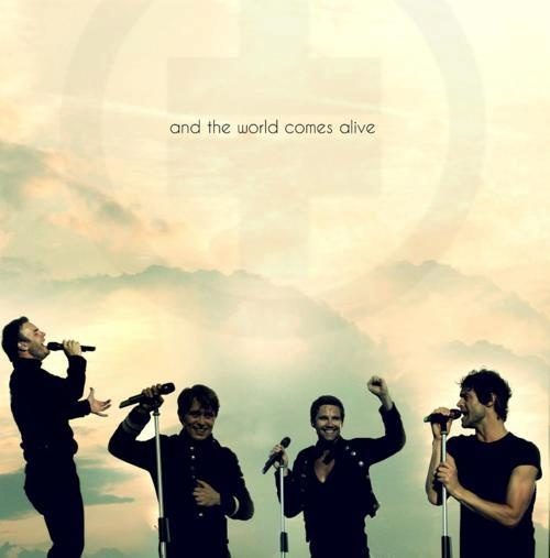 and the world comes alive <3