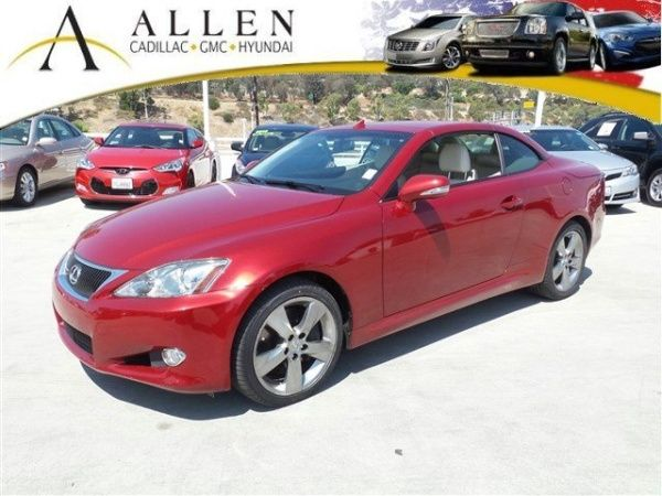 Used 2010 Lexus IS 350C for Sale in Laguna Niguel, CA – TrueCar