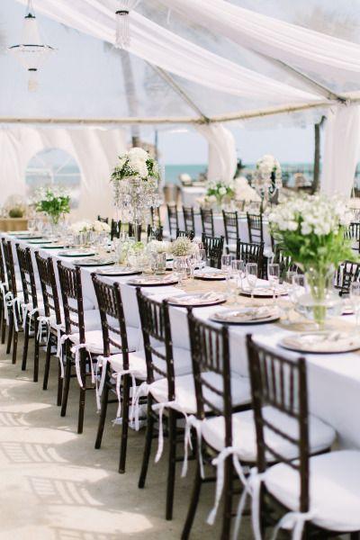 Oceanside reception: http://www.stylemepretty.com/florida-weddings/florida-keys/islamorada/2014/09/08/elegant-florida-keys-wedding-at-the-caribbean-resort/ | Photography: Bob Care - http://careweddings.com/