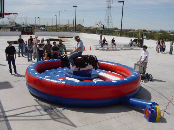 The Best Corporate Event in Phoenix ALWAYS Includes a Mechanical Bull - Party Professionals in Arizona