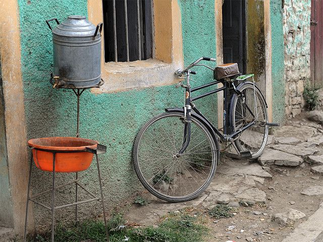 A bicycle in Ethiopia