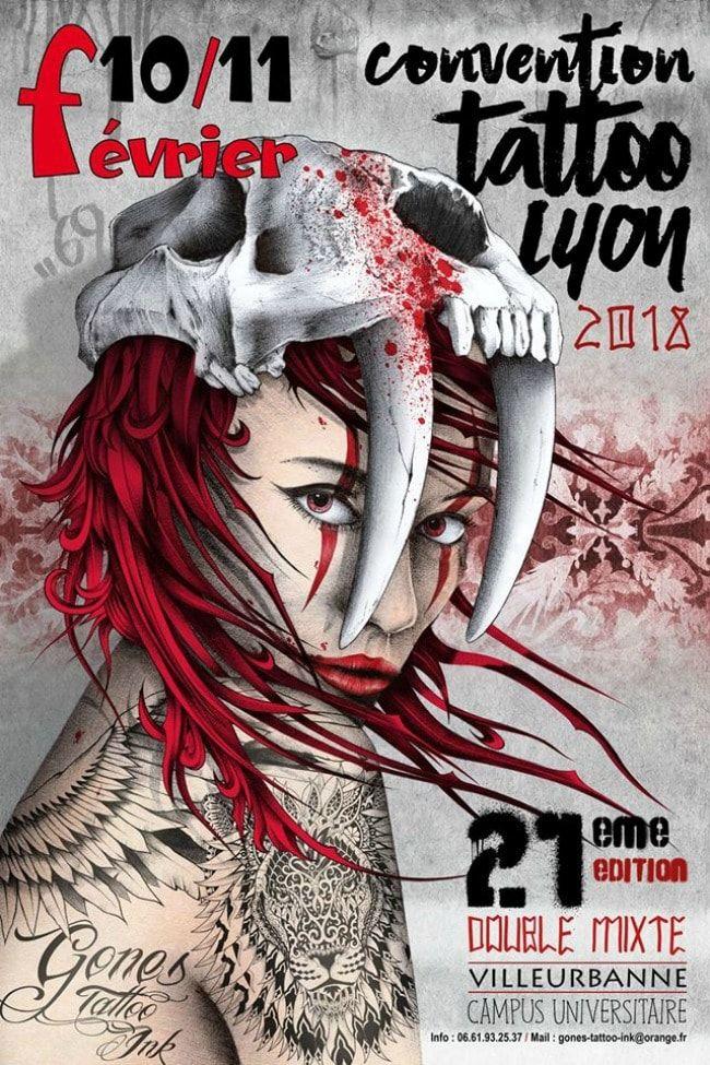 Calendrier Convention Tatouage 2022 Épinglé sur Tattoos' news