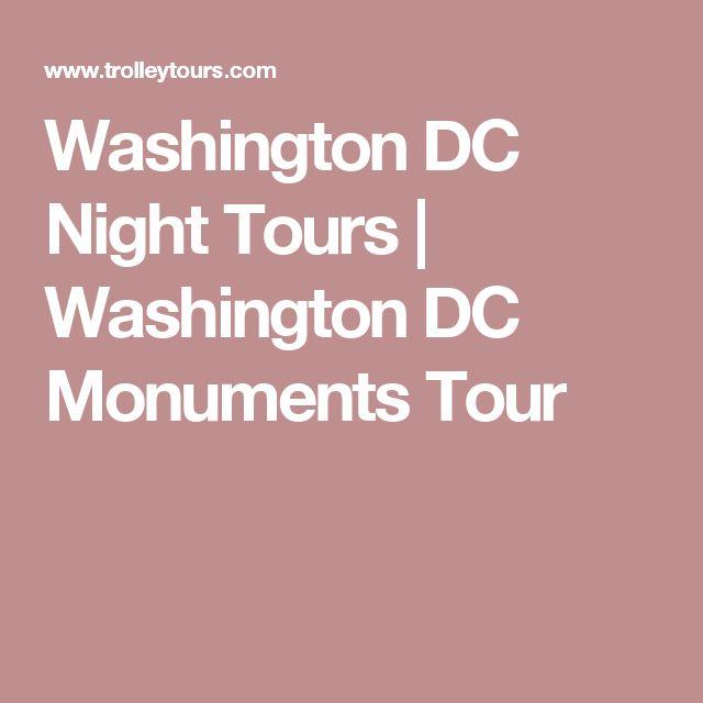 Washington DC Night Tours | Washington DC Monuments Tour