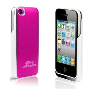 Slide Battery Case Hot Pnk Wht now featured on Fab.