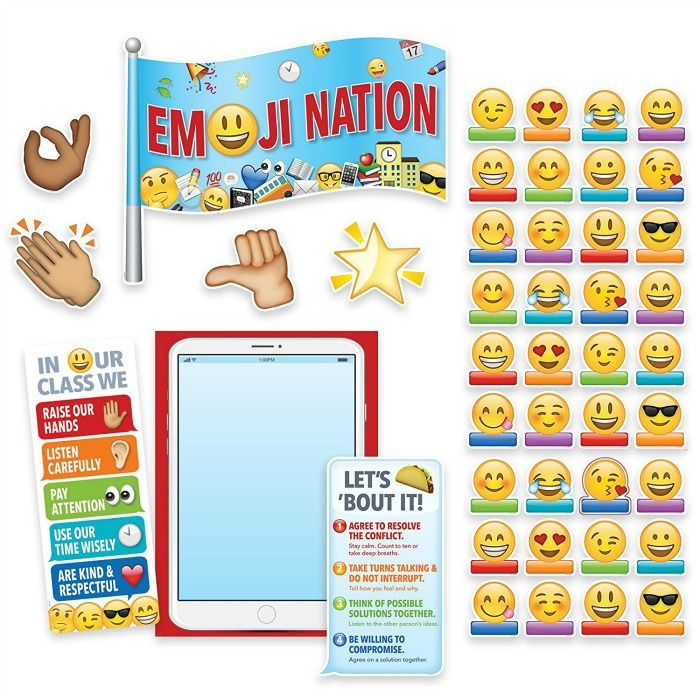 Kids love emojis, and these fun emoji-themed items are perfect for back-to-school and setting up your classroom this year!