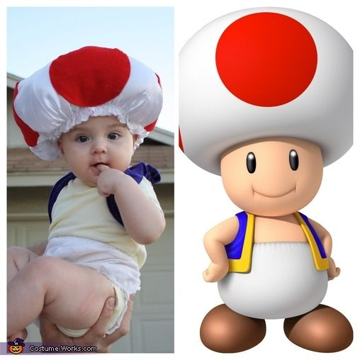 Diana: Our kids love playing on daddy's old school original Nintendo system, so what better costume idea than Nintendo characters! All characters are from the original Mario Brothers with the exception...