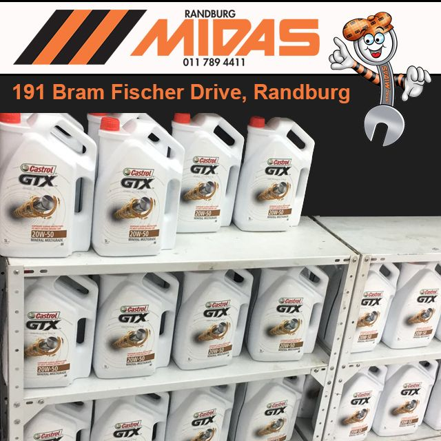 At Randburg Midas you will always find stock of what you are looking for #MidasLiquids