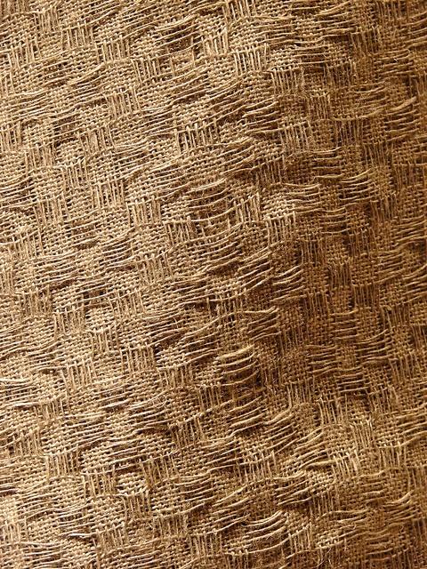 Linen singles by plainweave, via Flickr  false double weave 6 shaft? check weaving drafts