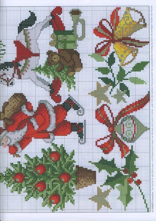 353 besten kreuzstich weihnachten bilder auf pinterest. Black Bedroom Furniture Sets. Home Design Ideas