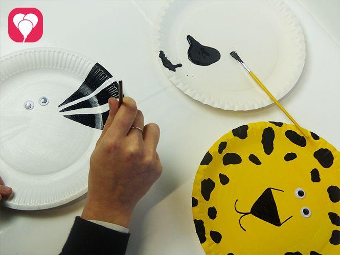 so kannst du tierische masken basteln balloonasblog dschungel party safari. Black Bedroom Furniture Sets. Home Design Ideas