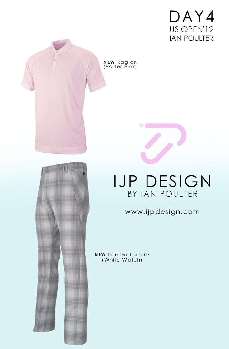 Ian Poulter's US Open Outfit Day Four.