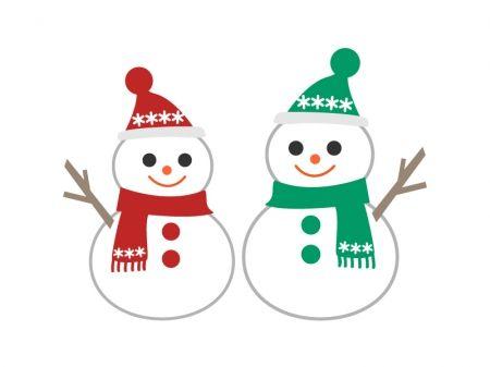 雪だるまのイラスト素材 Snow Folk 雪だるま イラスト 雪だるま