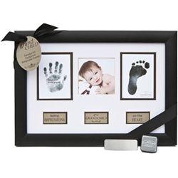Grandchild Hand Foot Print Frame - ♥ forever!